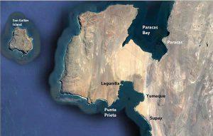 Karte Paracas. Quelle: ACOREMA