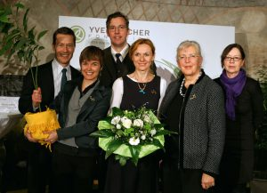 Schweinswalschuetzerin erhält Yves Rocher - Umweltpreis