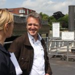 Denise Wenger im Gespräch mit Martin Stein