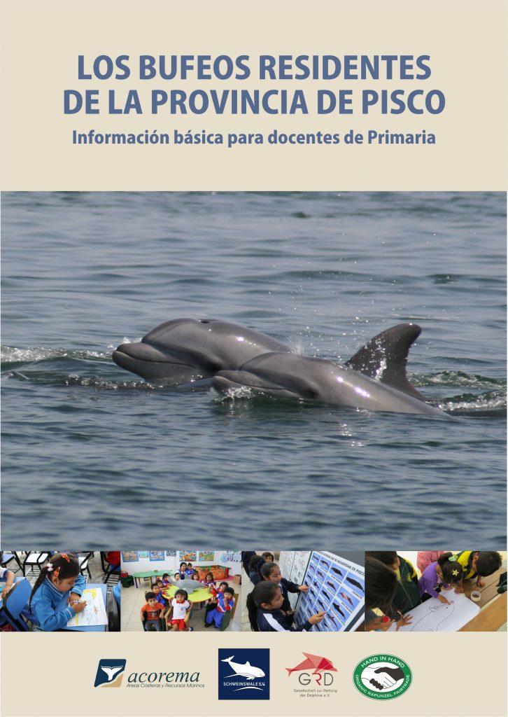 Broschüre über die Delfine bei Paracas von ACOREMA